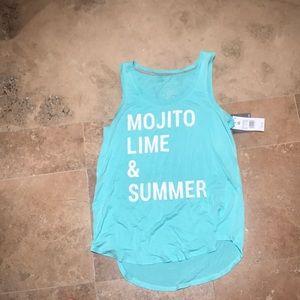 Soft pretty tank Mojito Lime & Summer